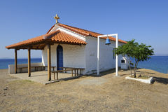 chiesa sul mare Fotografia Stock Libera da Diritti