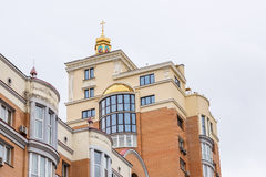 Chiesa sul tetto Fotografie Stock Libere da Diritti