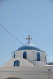 Chiesa sull'isola di Paros Immagini Stock Libere da Diritti