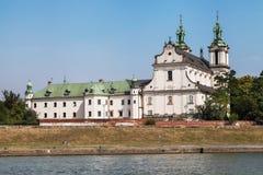 Chiesa sulla roccia a Cracovia immagine stock libera da diritti