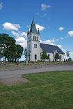 Chiesa svedese Fotografia Stock Libera da Diritti