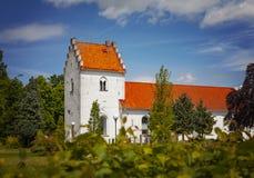 Chiesa svezia di Borgeby fotografia stock libera da diritti