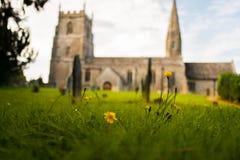 Chiesa a Swindon fotografia stock libera da diritti