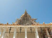 Chiesa tailandese bianca Immagini Stock