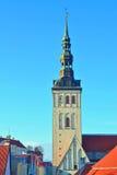 Chiesa a Tallinn Fotografia Stock