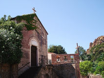 Chiesa in Theoule-sur-MER Immagine Stock