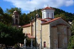 Chiesa tipica della pietra Fotografia Stock