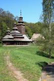 Chiesa tradizionale dell'Ucraina Fotografia Stock