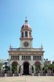 Chiesa tradizionale della città immagine stock
