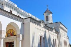 Chiesa trasversale santa Palazzo di Livadia, Crimea Fotografie Stock Libere da Diritti