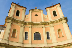 Chiesa Trinitarian di Bratislava Immagine Stock