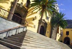 Chiesa tropicale e spagnola Fotografia Stock Libera da Diritti