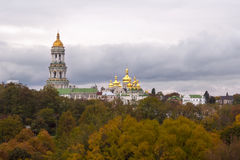 Chiesa ucraina - Lavra Immagine Stock Libera da Diritti