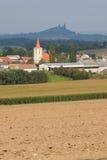 Chiesa in un villaggio no.1 Immagine Stock