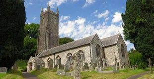 Chiesa in una contea inglese Fotografia Stock Libera da Diritti