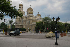 Chiesa a Varna Fotografie Stock Libere da Diritti