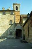 Chiesa Vecchia, Cerveteri, Italië royalty-vrije stock afbeeldingen