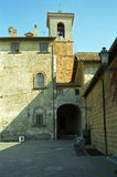 Chiesa Vecchia, Cerveteri, Włochy Obrazy Royalty Free