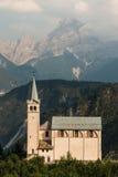 Chiesa in Venas di Cadore, dolomia Immagini Stock Libere da Diritti