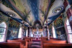 Chiesa verniciata Fotografia Stock Libera da Diritti