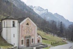 Chiesa vicino a Rima fotografia stock libera da diritti