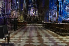 Chiesa Vienna della st Stephen Cathedra Fotografie Stock