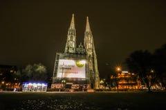 Chiesa Vienna di Votiv Immagine Stock Libera da Diritti