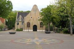 Chiesa Vlieland di Nicolaas fotografia stock