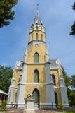 Chiesa in Wat Niwet Thammaprawat Fotografia Stock