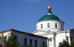Chiesa in Yaroslavl Russia Fotografia Stock