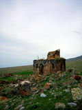Chiesa Yeghvard di Zoravar Fotografie Stock Libere da Diritti