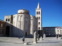 Chiesa in Zadar Fotografia Stock Libera da Diritti