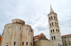 Chiesa in Zadar, Croatia Fotografia Stock Libera da Diritti