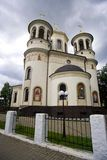 Chiesa Zvenigorod di ascensione fotografia stock