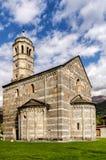Chiesadi Santa Maria del Tiglio in Gravedona Stock Foto