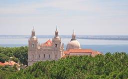 Chiese del sao Vicente e della Santa Engracia, Lisbona fotografie stock libere da diritti