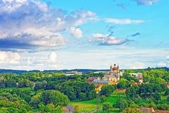 Chiese dell'ascensione e di cuore sacro di Jesus Vilnius fotografie stock libere da diritti