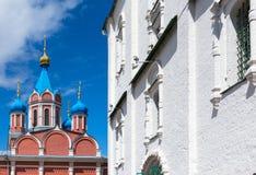 Chiese di Kolomna fotografia stock libera da diritti