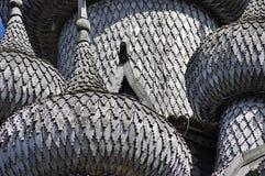 Chiese di legno. La Russia, isola di Kizhi. Fotografie Stock Libere da Diritti