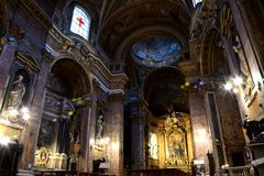 Chiese di Roma obrazy royalty free