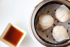 Chiese dumpling ha gow Stock Photos