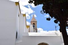 Chiese e monumenti a Faro, Algarve, Portogallo immagini stock