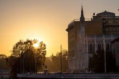 Chiese Parr Sacro Cuore Del Suffragio, Rome Arkivfoto