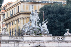 Chiese Parr Sacro Cuore Del Suffragio, Rome Royaltyfri Foto
