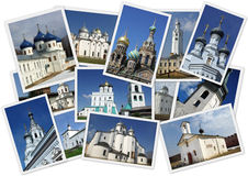 Chiese russe ortodosse Fotografia Stock