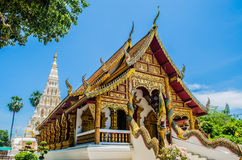 Chiese in tempio quadrato della pagoda. Immagini Stock Libere da Diritti
