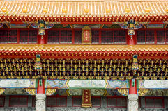 Chiese Temple. Wen Wu Temple Sun Moon Lake, Nantou, Taiwan, temple and shrine to Confucianism and Taoism religions Stock Images