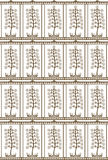 Chiese tree pattern Stock Photos
