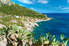 Chiessi, Elba-Insel. Italien. lizenzfreie stockfotografie