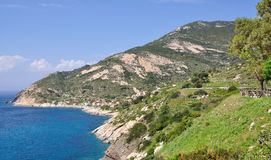 Chiesswi, Elba-Insel, Italien lizenzfreies stockfoto